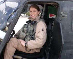 Preparing for a flight in Iraq